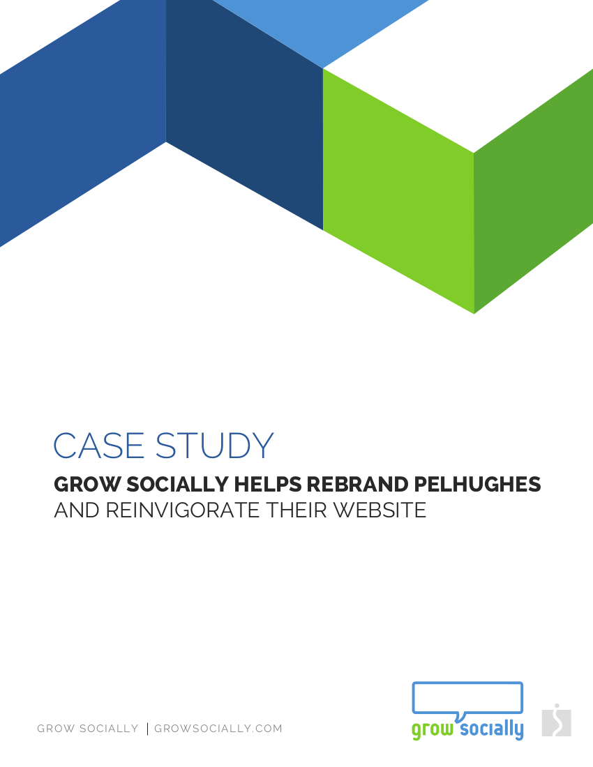Grow Socially Helps Rebrand PelHughes and Reinvigorates Their Website